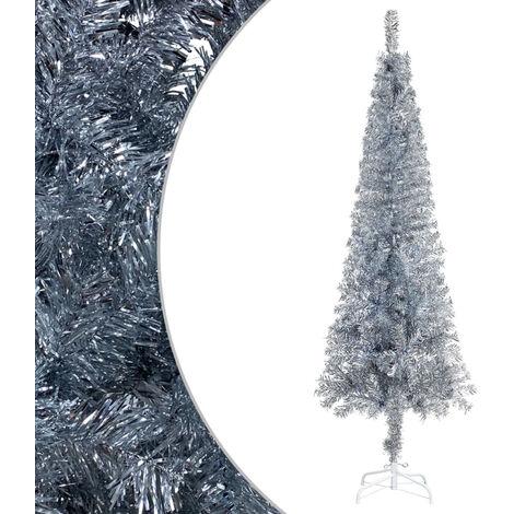 """main image of """"Slim Christmas Tree Silver 180 cm"""""""