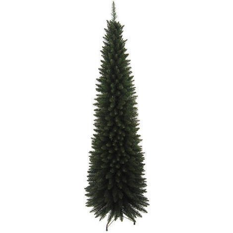Slim Line 6ft Christmas Tree in Green