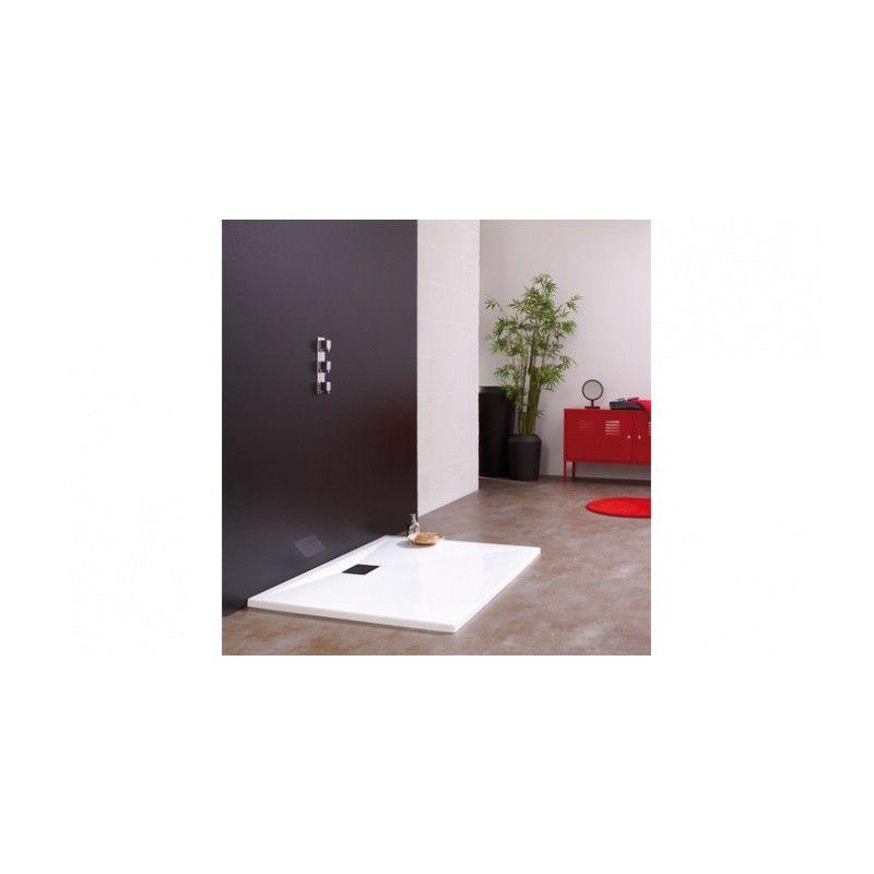 Todas las medidas disponibles Incluye Sif/ón y Rejilla Antideslizante y Rectangular Arena NCS S 3005-Y50R Plato de Ducha Resina Pizarra Stone 80 x 120