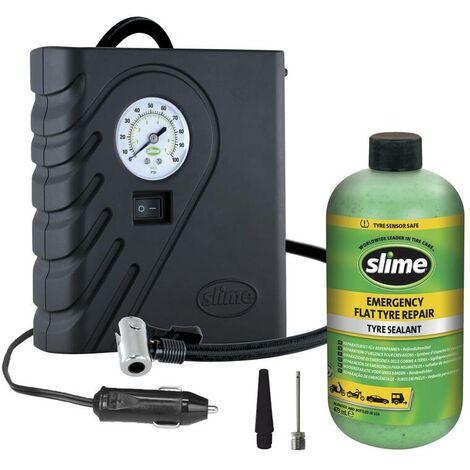 Slime Reifendichtmittel -Kompressor-Kit