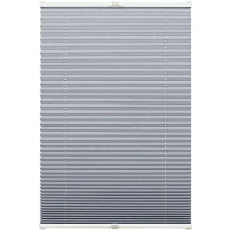 Slimfix Plissee grau 80 x 210