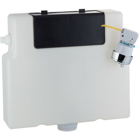 Slimline (Front & Top Access) Dual Flush Concealed WC Cistern