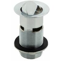 """Slotted Basin Waste - 1 1/4"""" Flip Top Plug"""
