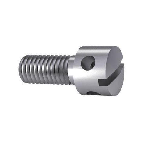 Slotted capstan screw DIN 404 Stainless steel A1 50
