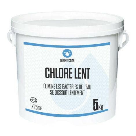 Slow chlorine 5kg - 250g rolls