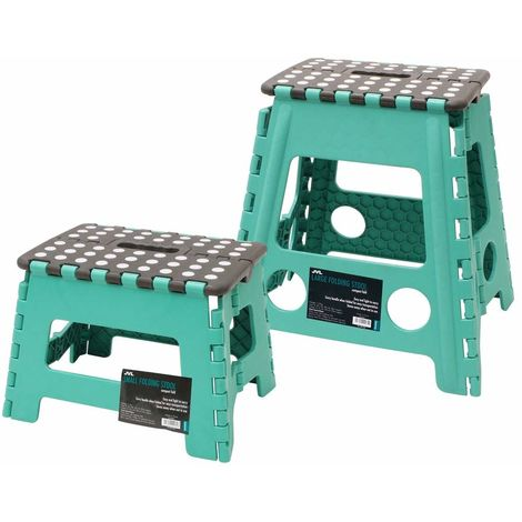 Small and Large Folding Step Stool