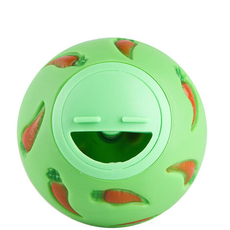 Small Animal Snack Ball, Rabbit Lick Ball, Anti Piercing Toys, Bite Resistant Floppy Eared Rabbit, Hamster, Chinchilla, Pig Cage; India, Pet Supplies, Greenery