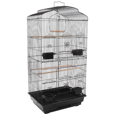 Small Black Bird Cage
