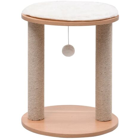 Small Cat Tree with Scratching Posts 44 cm