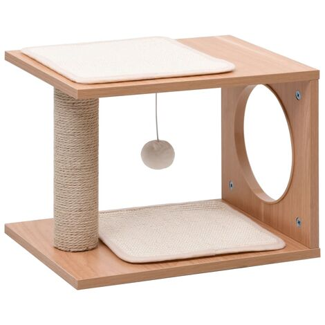 Small Cat Tree with Sisal Scratching Mats 30 cm