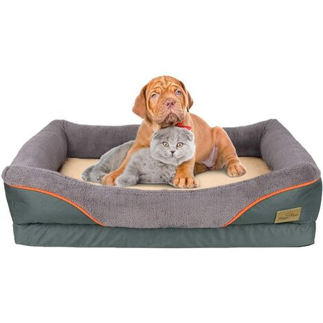 Small Dog Bed Soft Pet Couch Sofa Cushion Warm Basket Pillow Waterproof