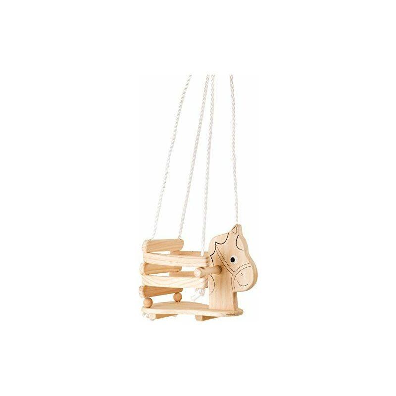 4774 - Balançoire en bois - Cheval - Small Foot Design