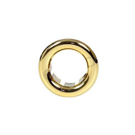 Small Gilded Rosette Rose Collar for Bathroom Sink Basin Overflow 21mm Diameter