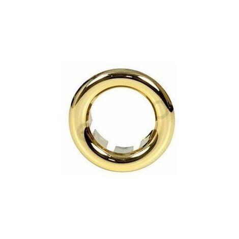 Small Gilded Rosette Rose Collar for Bathroom Sink Basin Overflow 25mm Diameter
