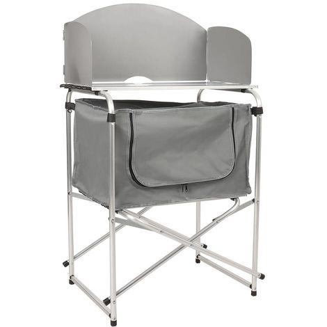 Small Grey Camping Kitchen