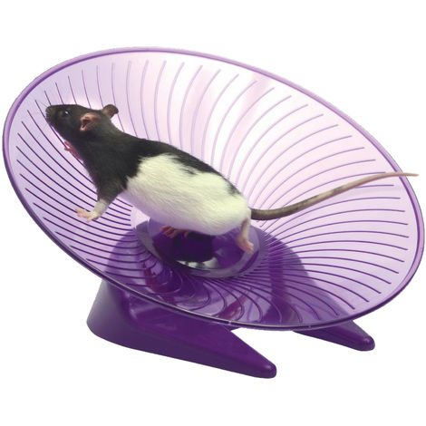 Small N Furry Flying Saucer Wheel