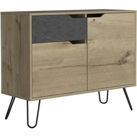 small sideboard with 2 doors & 1 drawer