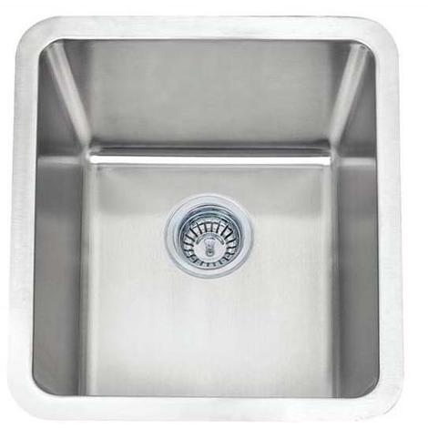 Small Single Bowl Matt Brushed Stainless Steel UnderMount Kitchen Sinks (A01 bs)