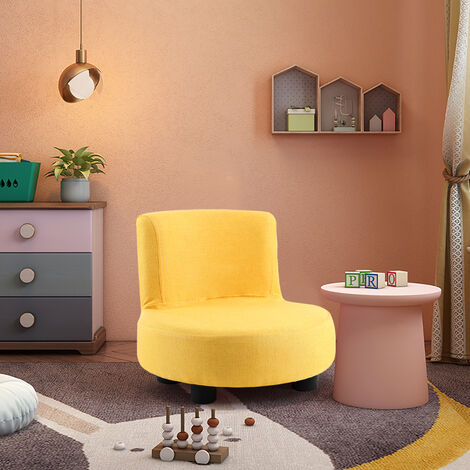Small Sofa Children Kids Armchair Baby Playing Chair Seat Playroom Furniture, Pink