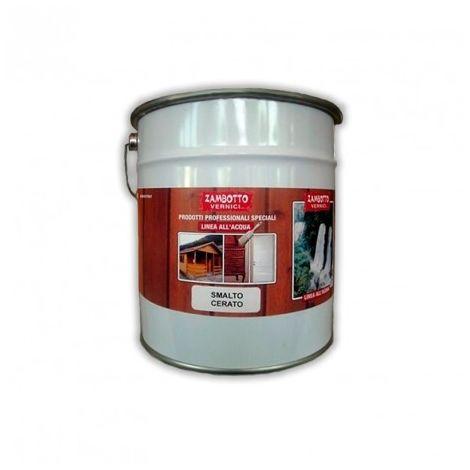 Smalto cerato all'acqua LUCIDO per legno per interni ed esterni da 0,75 a 5 litri