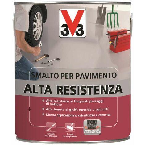 Smalto Pavimenti Alta Resistenza Rosso Mattone 500 ml