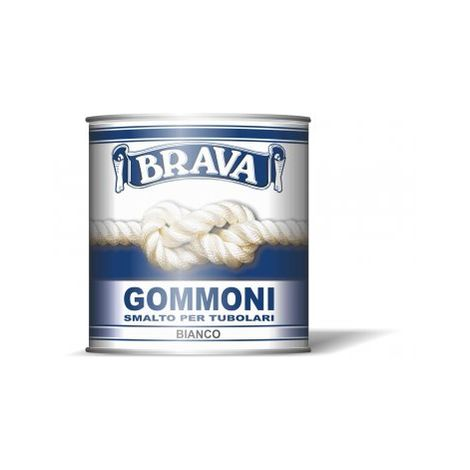 Smalto per gommoni grigio ml.750