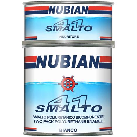 Smalto poliuretanico bi conponente smalto41 nubian litri 2,5 brillante e resistente