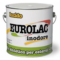 Smalto Sintetico Lucido Inodore Eurolac Laiv colore Verde Itria 0,750 Lt.