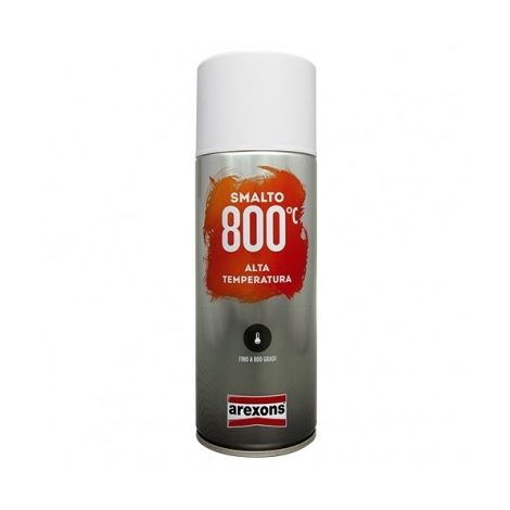 Smalto Spray Ml 400 Nero Opaco Alte Temperature 3332