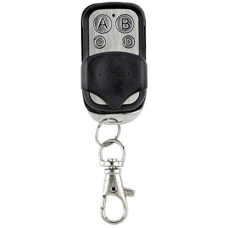 Smart 433Mhz Telecommande Rf Controleur Avec 4 Boutons Sans Fil Pour Mur Led Interrupteur De Porte De Garage Telecommande Fob Cle 1Pcs / Lot