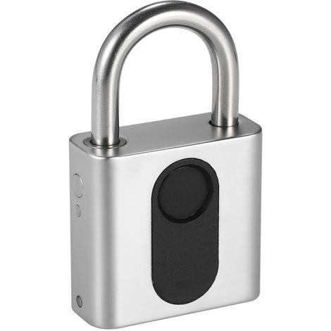 Smart Bluetooth Fingerprint Vorh?ngeschloss, USB Charging