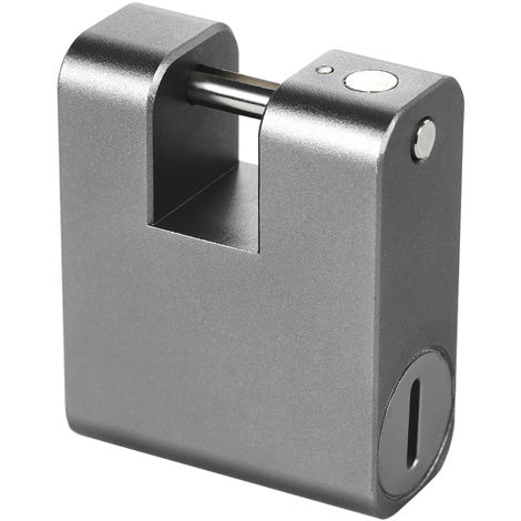 Smart Bluetooth Padlock Gray