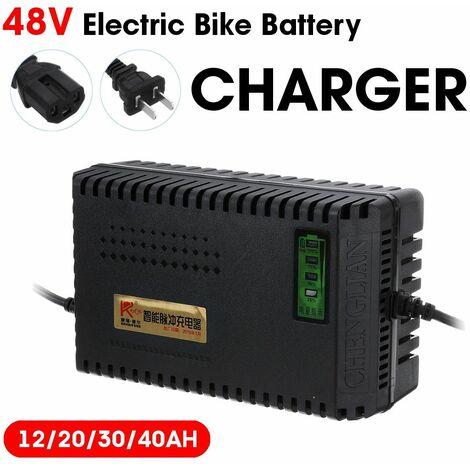 Smart Electric Bike Scooter Lead Acid Battery Charger (48V12AH)