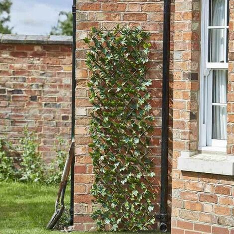 Smart Garden 90cm x 180cm Expanding Maple Leaf Trellis Wheelie Bin Screen