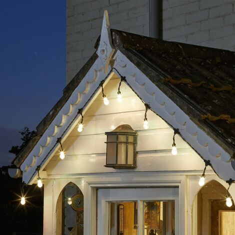 Smart Garden Orion Bluetooth Solar Smart String Lights Garden White Colour LED