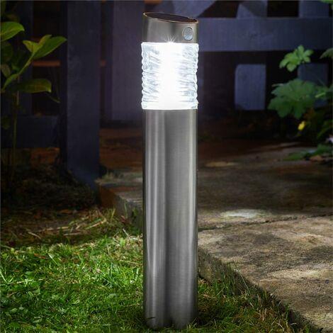 "main image of ""Smart Garden Pharos Motion Sensor Bollard Garden Solar PIR Security Light Bright"""