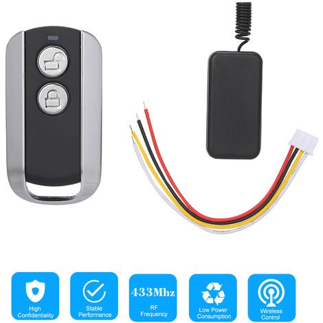 Smart Home 433Mhz 12V 1CH Mini Relay Wireless RF Remote Control Switch Relay Power LED Lamp Controller