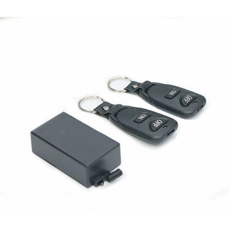 Smart home 433Mhz télécommande sans fil interrupteur relais émetteur-récepteur télécommande universelle module de commutation et 2 pièces émetteur RF télécommande