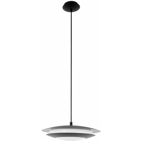 Smart Home RGB LED lámpara colgante plafones lámpara de techo colgante Alexa Google APP negro Eglo 96978