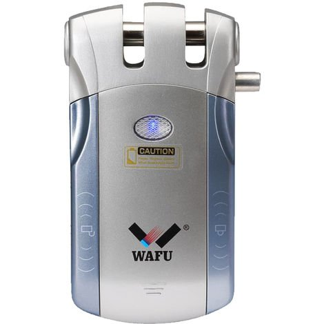 Smart Remote T¨¹rschloss, blau und silber