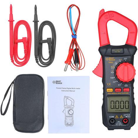 Smart Sensor Pince Numerique De Haute Precision Gamme Manuel Multimetre Ac Pince Amperemetre Calibre Pince St821