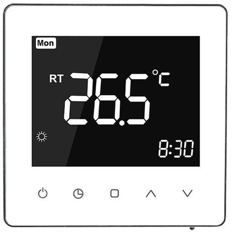 Smart Thermostat wei? Kamin
