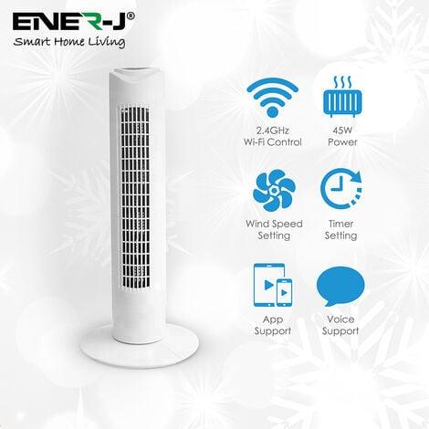 Smart WiFi Tower Fan