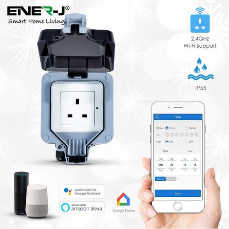 Smart WiFi Waterproof Single Socket (IP55)