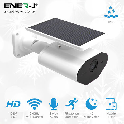 Smart Wireless 1080P Camera with Solar Panel