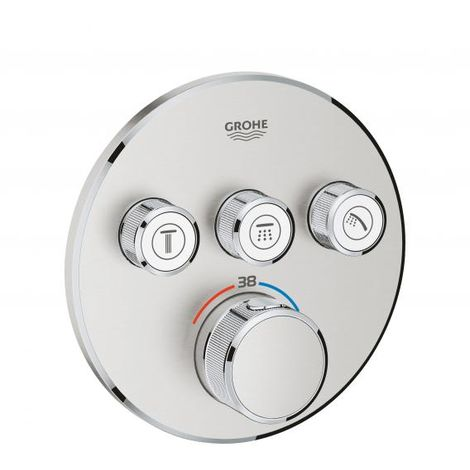 SmartControl Termostato empotrado con 3 llaves Grohe Grohtherm 29121000