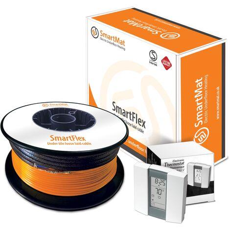 SmartFlex Cable Kit + Aube TH232 Thermostat - 300W