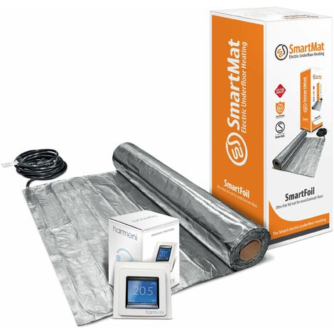 SmartFoil 140w/m2 Kit + DEVIreg Touch Programmable Thermostat - 3.0m2, 420w