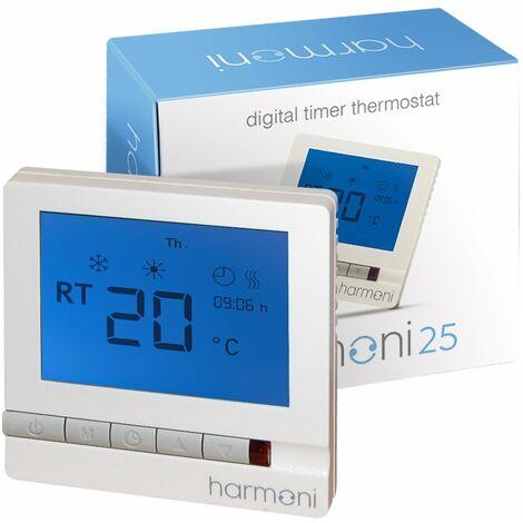 SmartMat 150w/m2 2.0m2 300w Underfloor Heating Kit + Harmoni 25 Thermostat