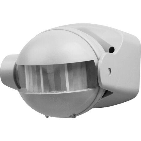 Smartwares 10.017.09 Aufputz PIR-Bewegungsmelder 180° Silber IP44 W236871